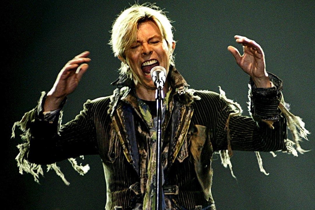 英國傳奇搖滾樂手大衞寶兒因癌症病逝,享年69歲。攝:David W Cerny/REUTERS