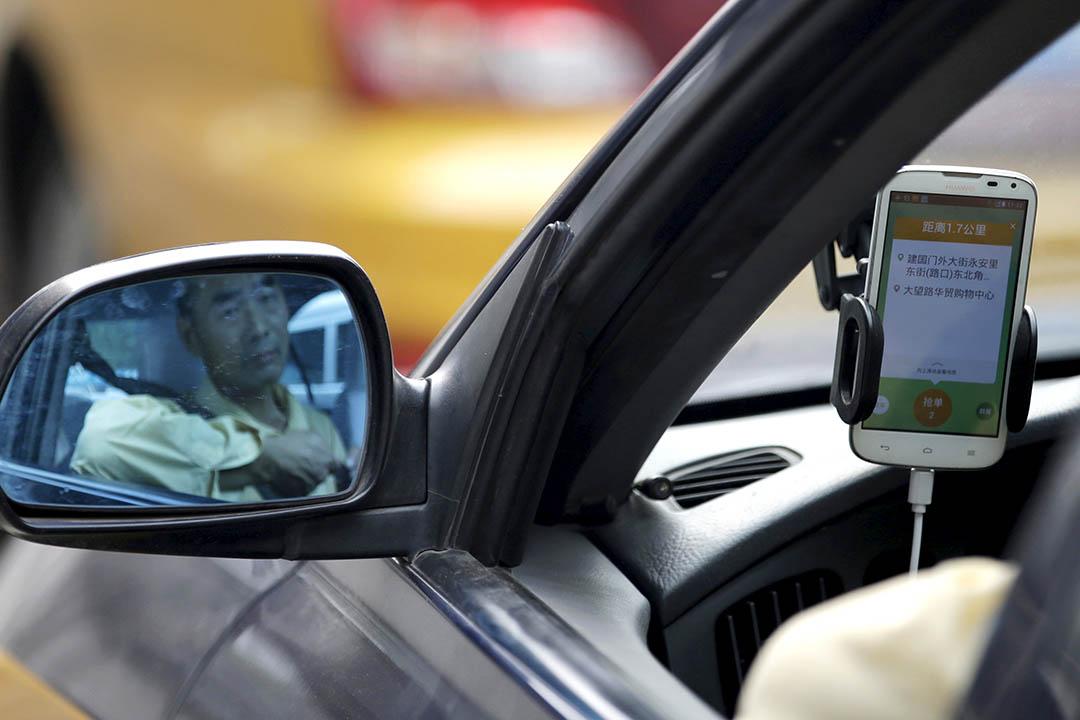 中國交通部關於出租車和專車的管理辦法公開意見徵集結束,「大多數」人支持專車納入監管範圍。攝: Jason Lee/REUTERS