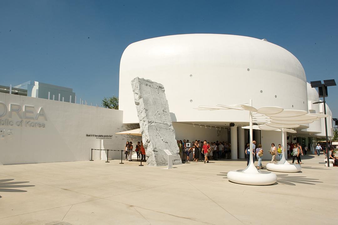 2015年米蘭世博韓國館。 攝:Andrea Wyner端傳媒
