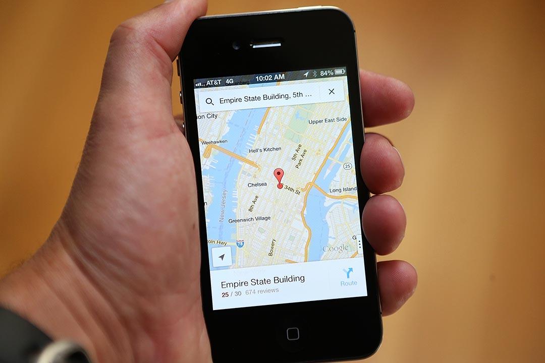 Google街景車變身「空氣監測員」。圖為Google地圖。 攝: Justin Sullivan/Getty Images