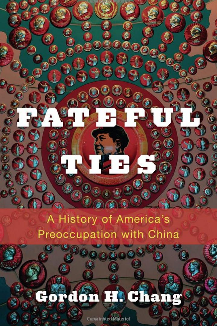 斯坦福大學東亞研究中心教授張少書( Gordon H. Chang)著:《宿緣:美國對中國的觀念史》 (Fateful Ties: A History of America's Preoccupation with China)。