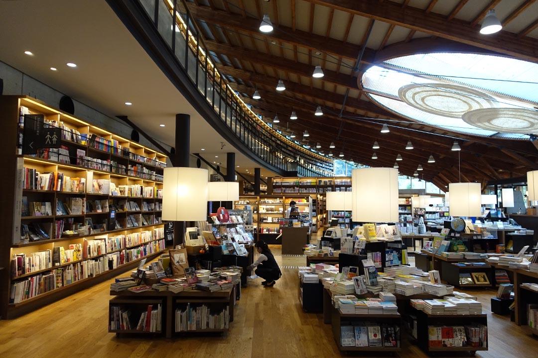 武雄市圖書館一角。攝:林琪香