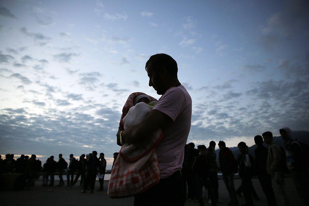 滞留在土耳其的難民。攝 : Spencer Platt/GETTY