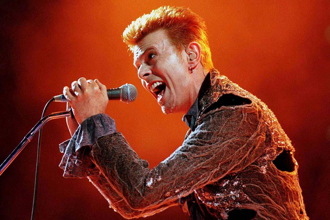 黃耀明認為 David Bowie 的最後一張專輯將黑暗用最華麗的方式呈現出來。攝:Stringer/REUTERS