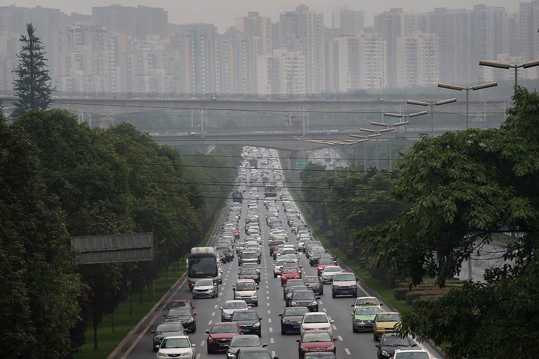 2月21日,中國發布被認為是「十三五」時期乃至未來一段時間城市發展的具體路線圖。攝:John Moore/Getty