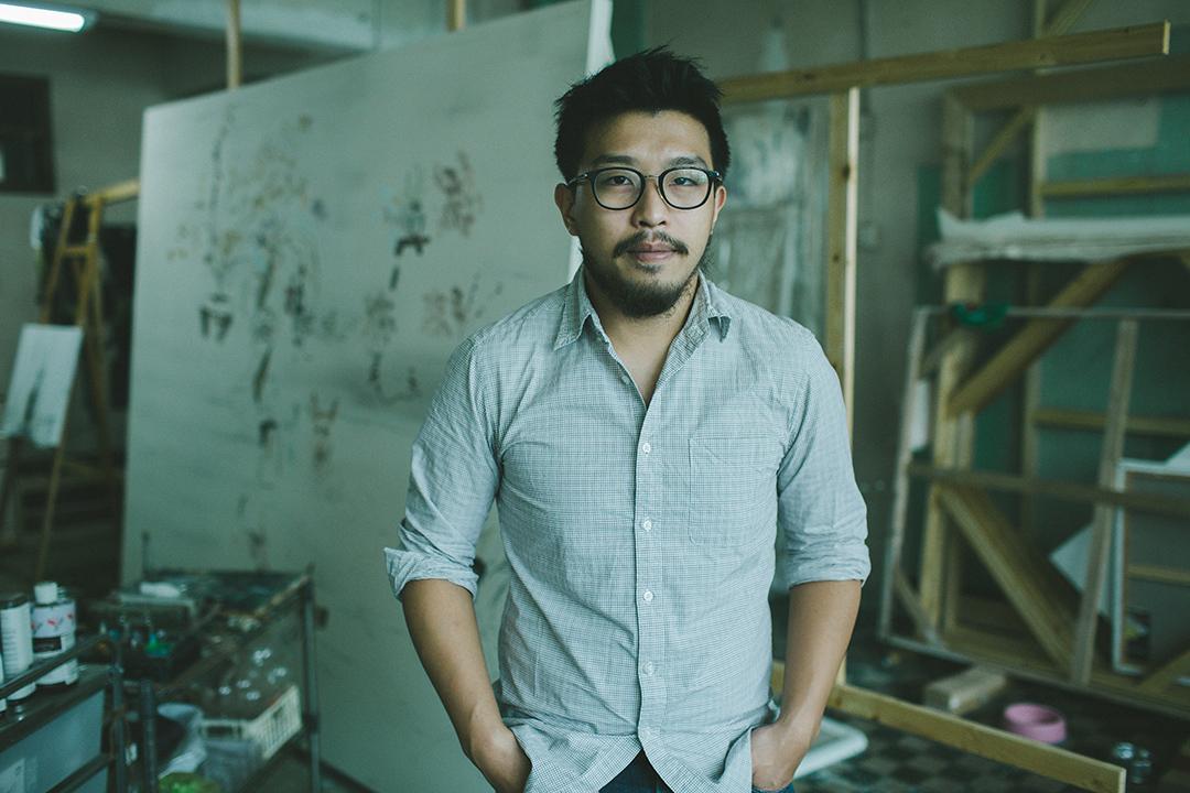藝術家禤善勤。 攝 : 王嘉豪/端傳媒