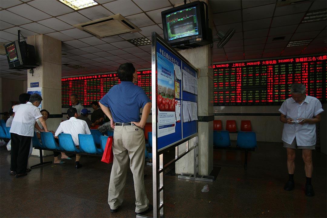 曾國平:全球經濟面對的,是增長、通脹、利率皆低的「三低」現象。攝:China Photos/Getty