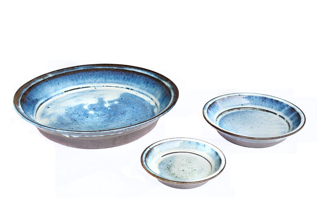 出西民藝館中,展示了出西窯以往的製品。(攝:Kentaro Takahashi)