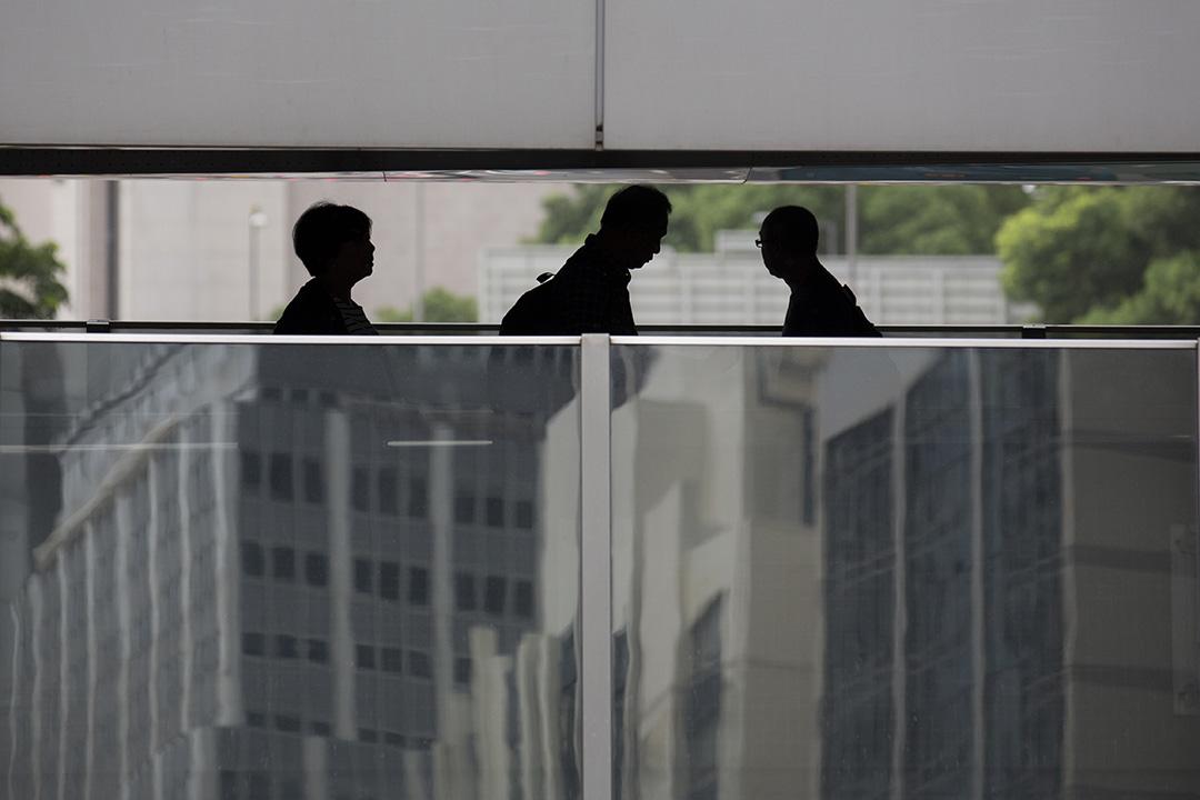 圖為香港中環。攝:羅國輝/端傳媒