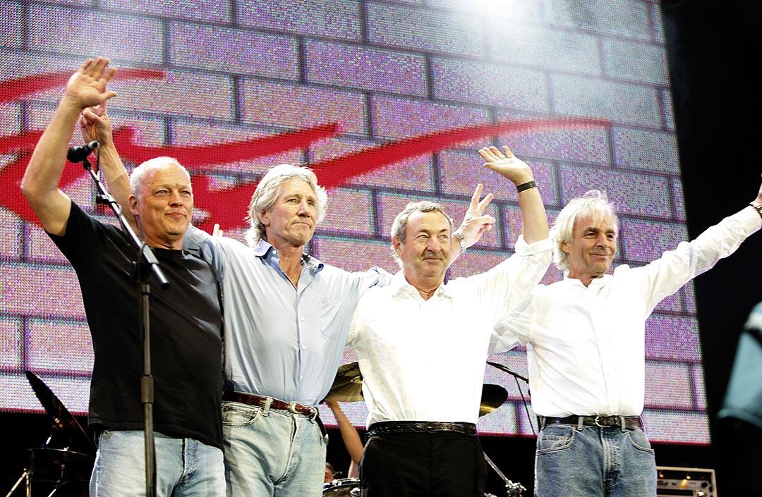 搖滾樂隊 Pink Floyd。攝 : MJ Kim/GETTY
