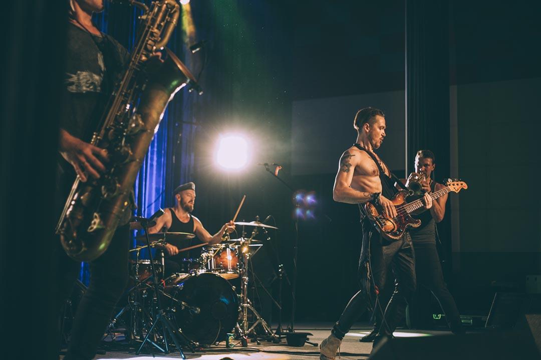 Pink Freud 在今年的 OCT-LOFT 國際爵士節上表演。攝:空鍋