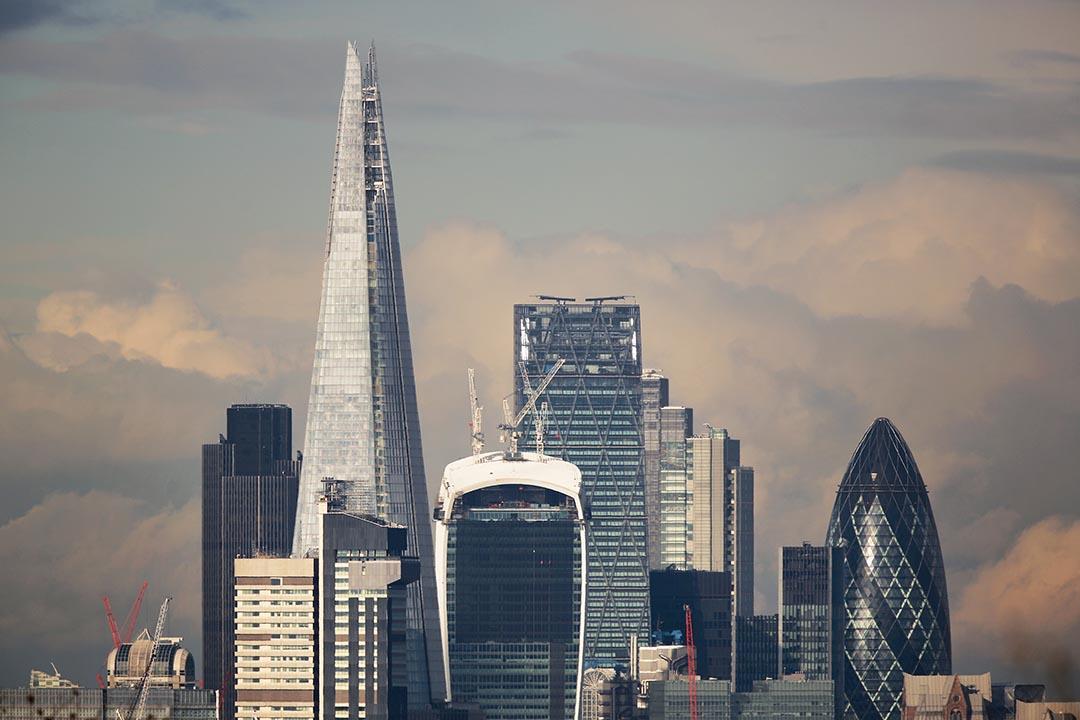 七家大型投資銀行2014年在英國僅繳納3100萬美元稅款。攝 :  Peter Macdiarmid/GETTY