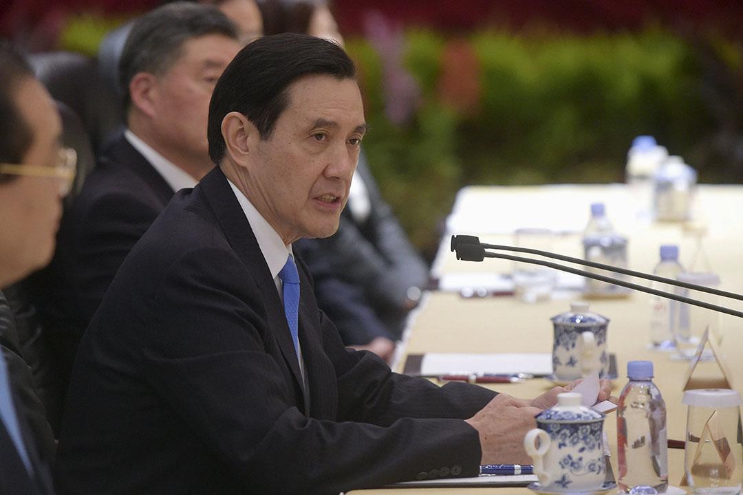2015年11月7日,新加坡,台灣總統馬英九。攝:Joseph Nair/REUTERS
