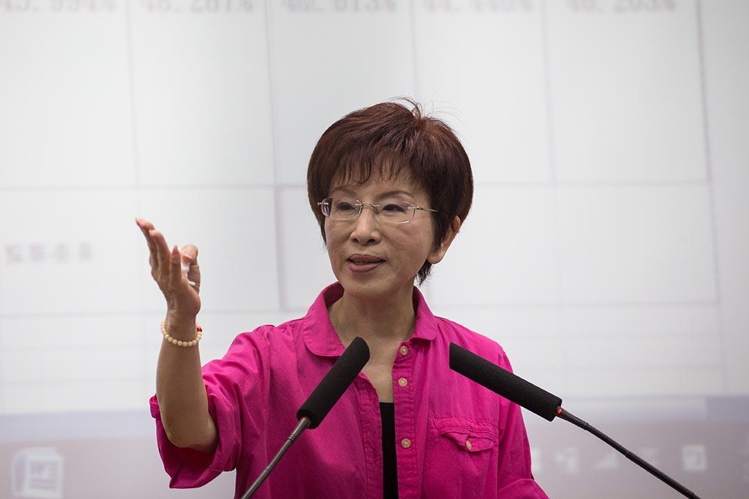 台灣國民黨總統參選人洪秀柱。攝 : Billy H.C. Kwok/端傳媒