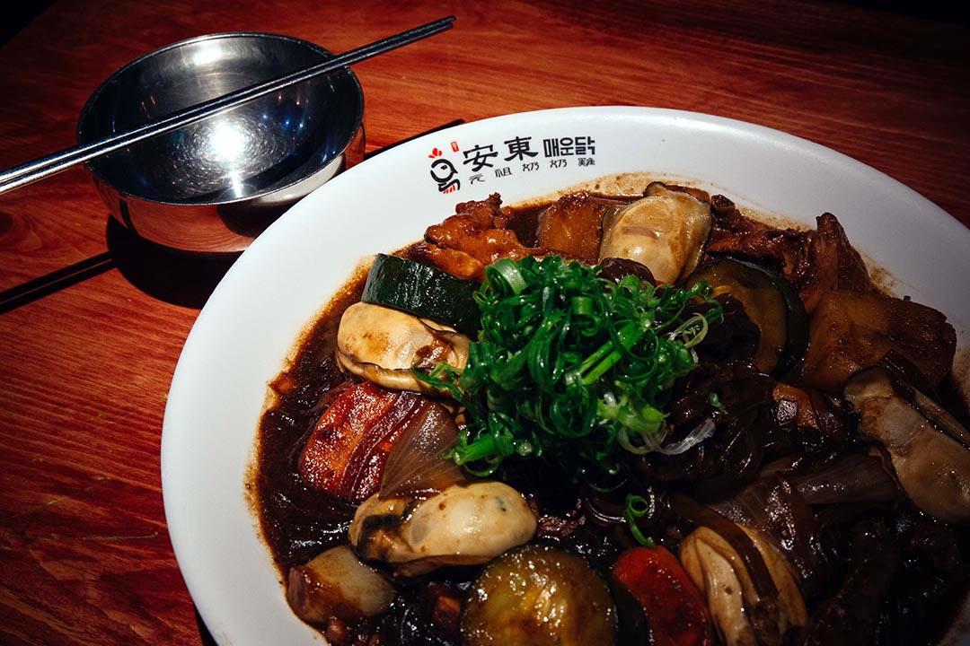 釜山鮮蠔奶奶雞。攝:葉家豪/端傳媒