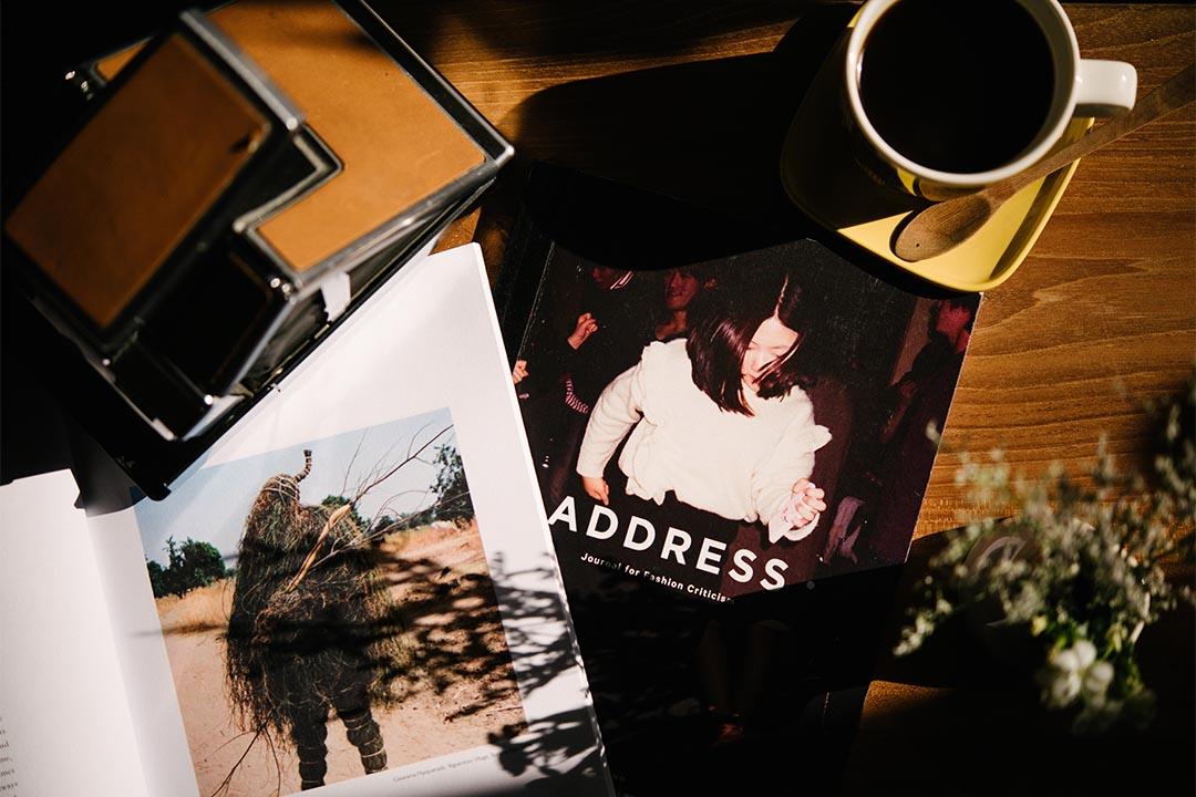 來自英倫的《Address》,編輯團隊打着「文化思考」(Criticism)旗號,以不定期出版的刊物和網站形式談時裝世界中的不同題目,至今已出版兩期,全書堅持不放廣告,保持編採獨立性。(攝影:Lit Ma)