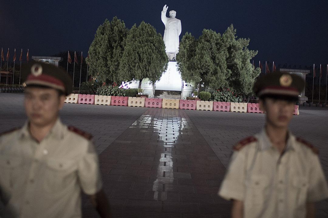 南街村聲稱以毛澤東思想的集體主義為理念,提出建設。攝:林亦非/端傳媒