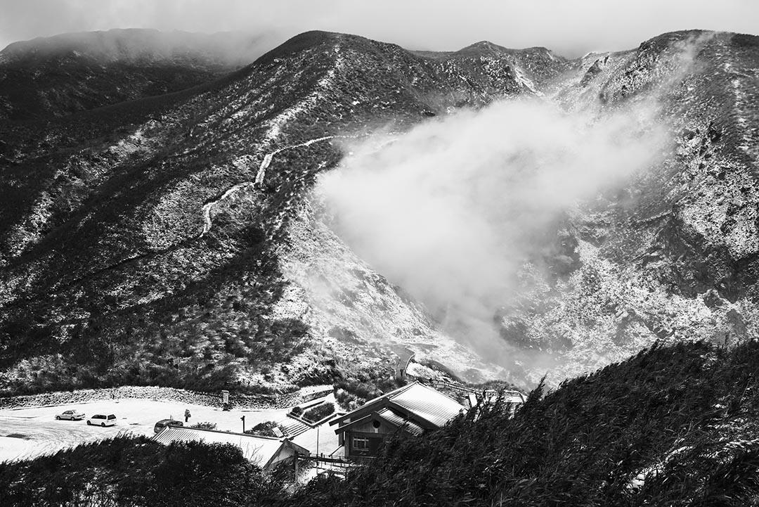 2016年1月24日,台灣,陽明山。攝:張國耀/端傳媒