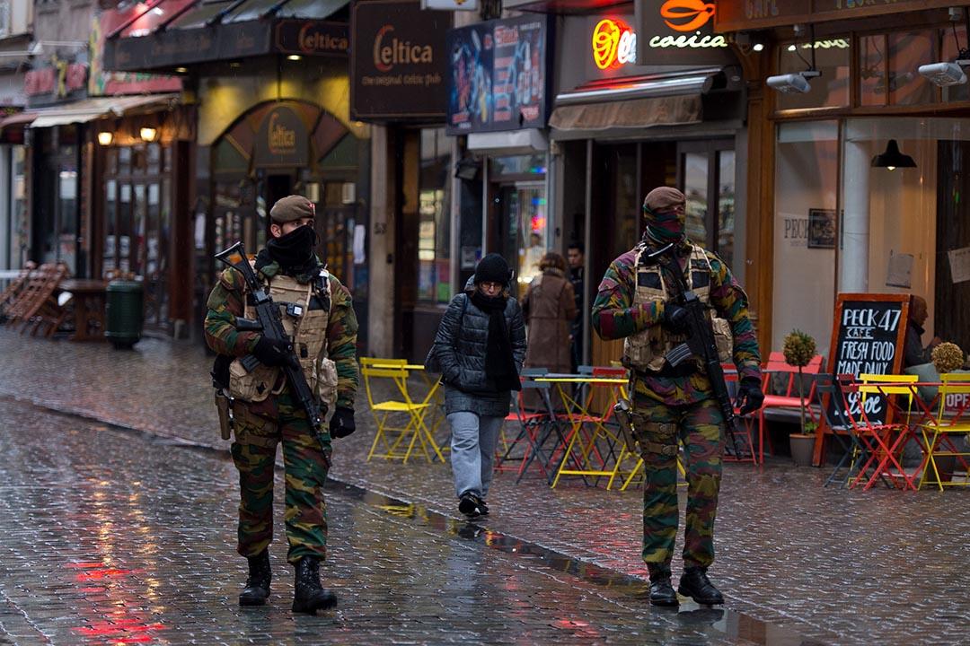 比利時政府宣布,基於安全理由,首都布魯塞爾的除夕煙花慶祝活動將會取消。攝 : Ben Pruchnie/GETTY
