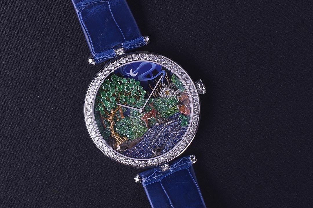 Lady Arpels Peau d'Ane Foret Enchantée,$2,270,000。攝:Stephen/端傳媒