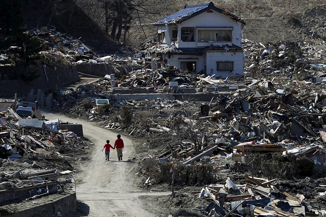 日本福島核災過後5年,仍有大量災民住在避難所。攝 : Toru Hanai/REUTERS