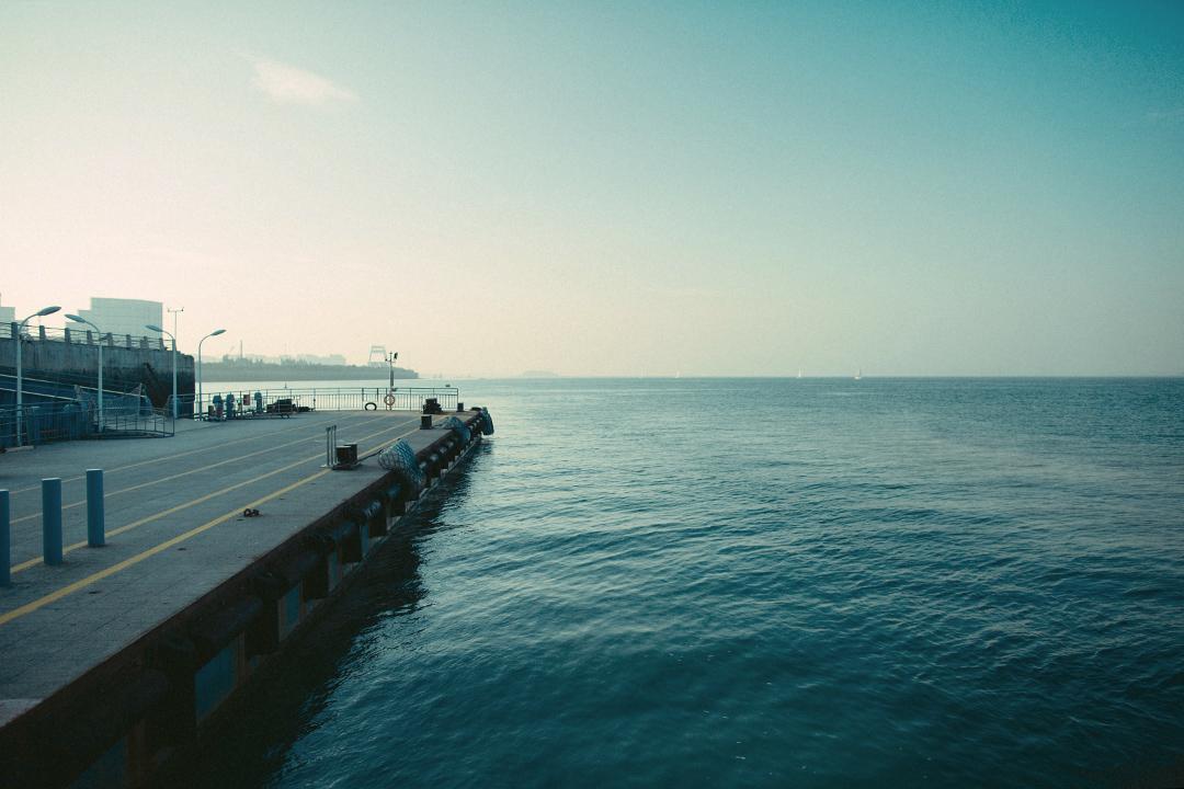 廈門市五通客運碼頭。攝:王嘉豪/端傳媒
