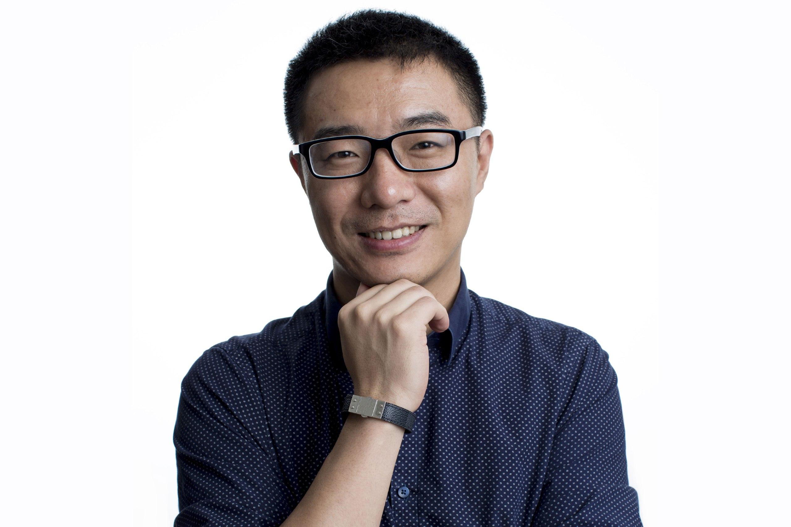 中國傳媒人賈葭。攝:端傳媒攝影部