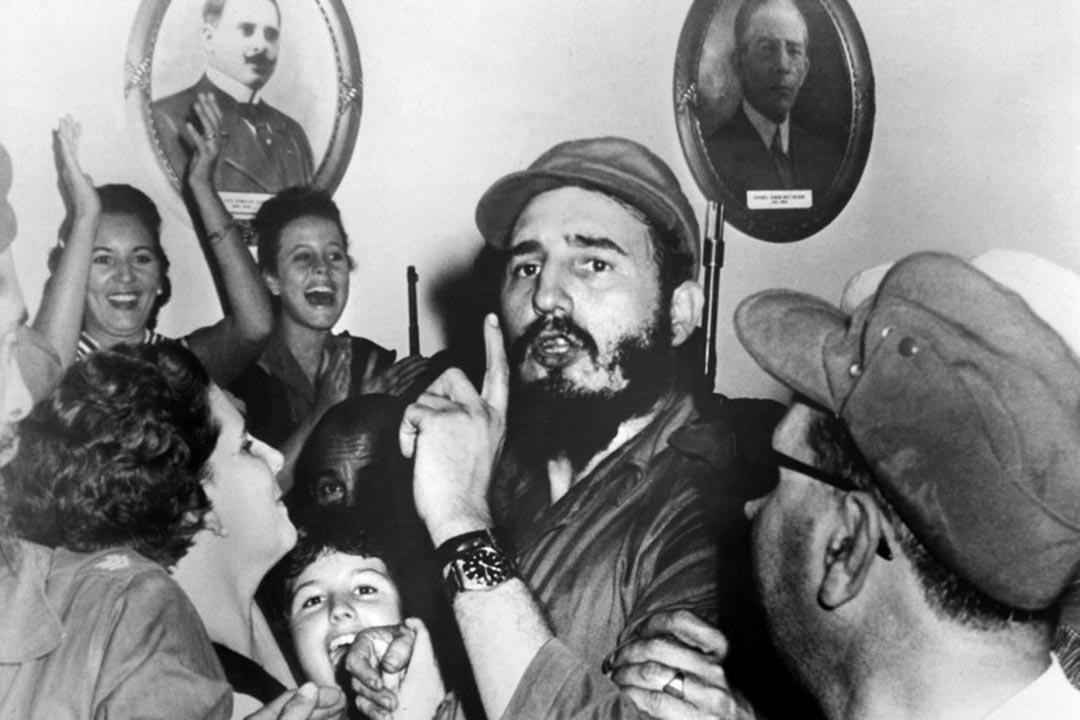 1959年1月4日,時任古巴領導人菲德爾・卡斯特羅。攝: PRENSA LATINA / AFP