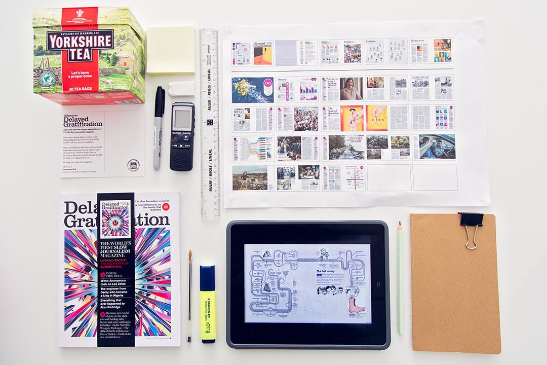 「慢新聞學」概念是希望提供新聞工作者產製新聞應有的時間與空間,產製出具新聞價值、值得追蹤關注的新聞。照片提供:Delayed Gratification