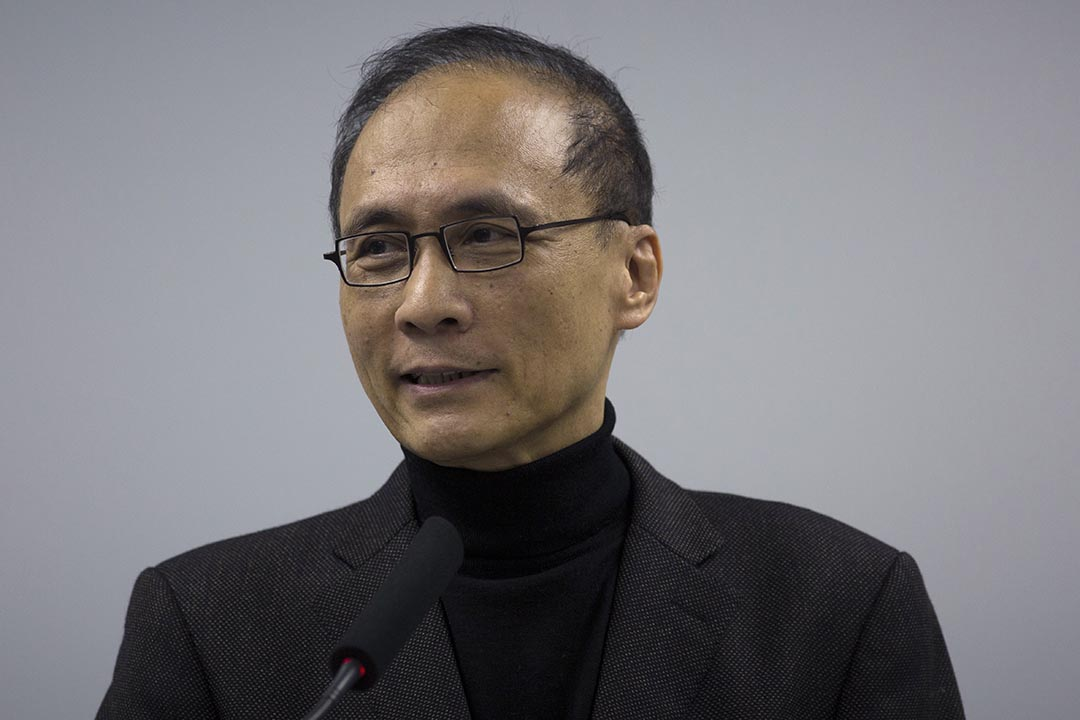 林全將擔任新政府行政院長。攝:徐竪全/端傳媒