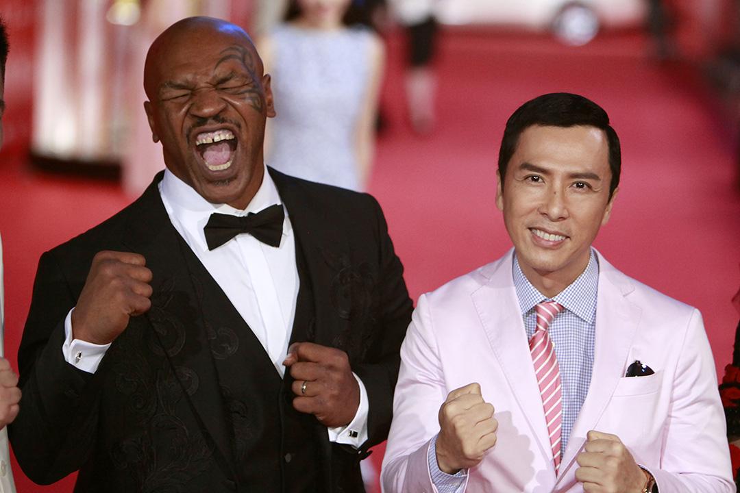 甄子丹主演的電影《葉問3》,因票房造假相關機構被查處。攝:Kevin Lee/GETTY