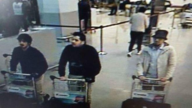機場監控拍下的疑犯截圖。