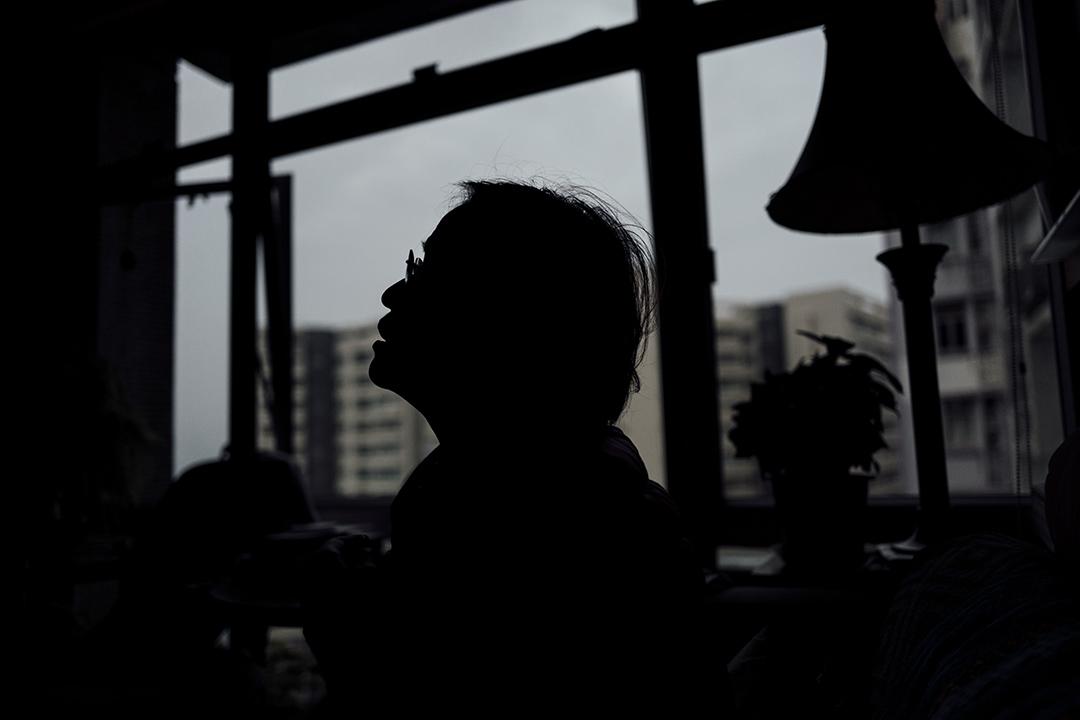 李波妻子蔡嘉蘋於2016年1月接受端傳媒訪問。攝:Anthony Kwan/端傳媒