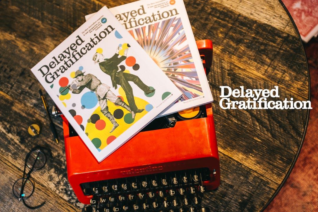 主打「慢新聞學」的《Delayed Gratification》拉開時空,挖掘真相。設計:Tsengly / 端傳媒