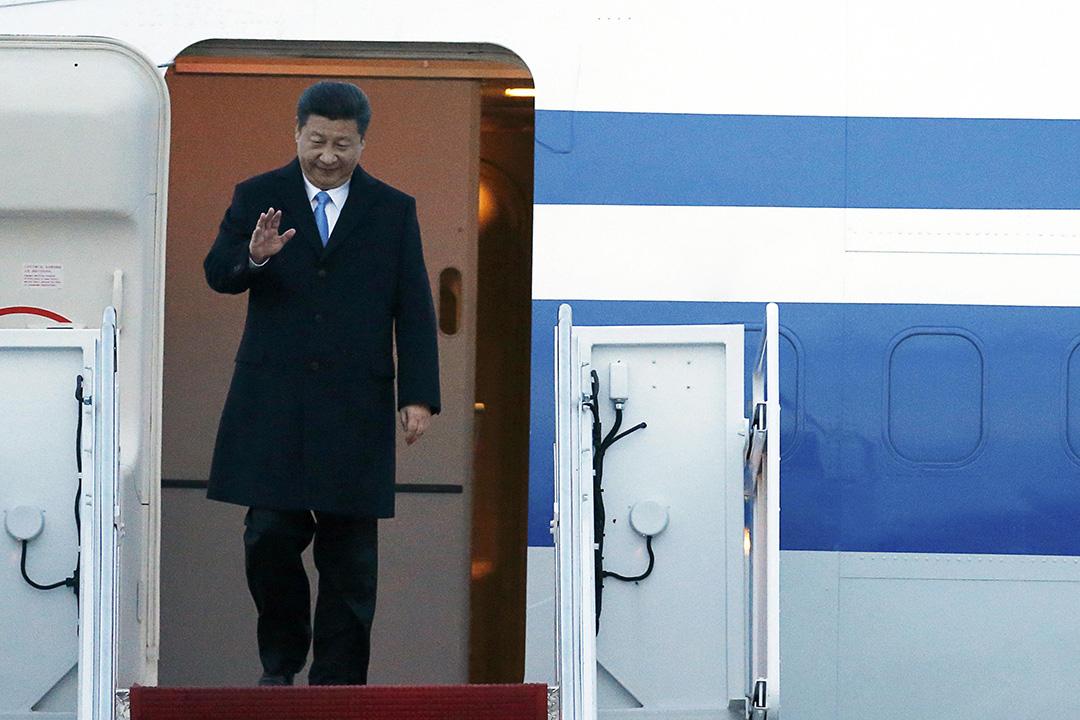2016年3月30日,中國國家主席習近平抵達華盛頓,參加為期兩天的核安全峰會。攝:Jonathan Ernst/REUTERS