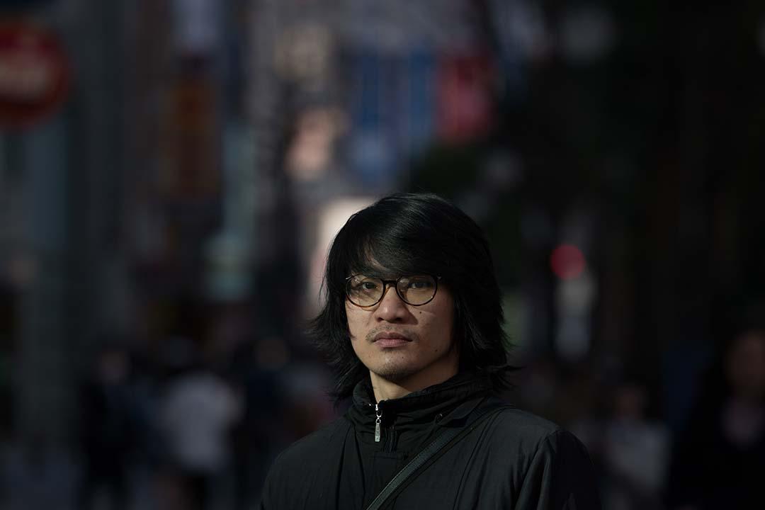台灣新銳漫畫家陳繭。攝:Takashi Aoyama/端傳媒