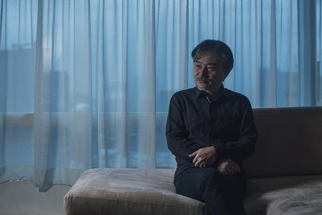 日本恐怖片導演黑澤清。攝:Anthony Kwan/端傳媒