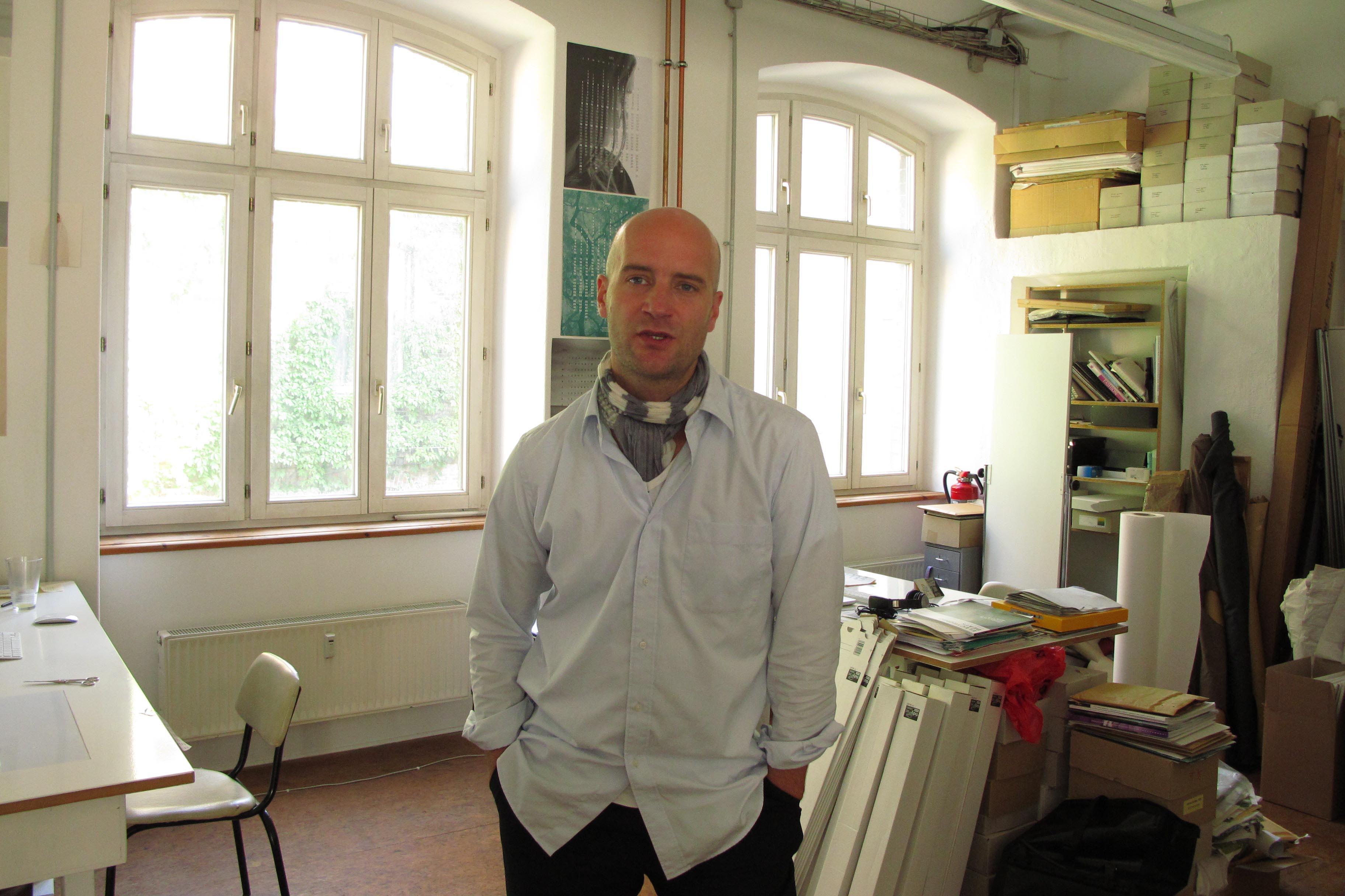 《mono.kultur》創辦人Kai von Rabenau。照片提供: 雜誌現場