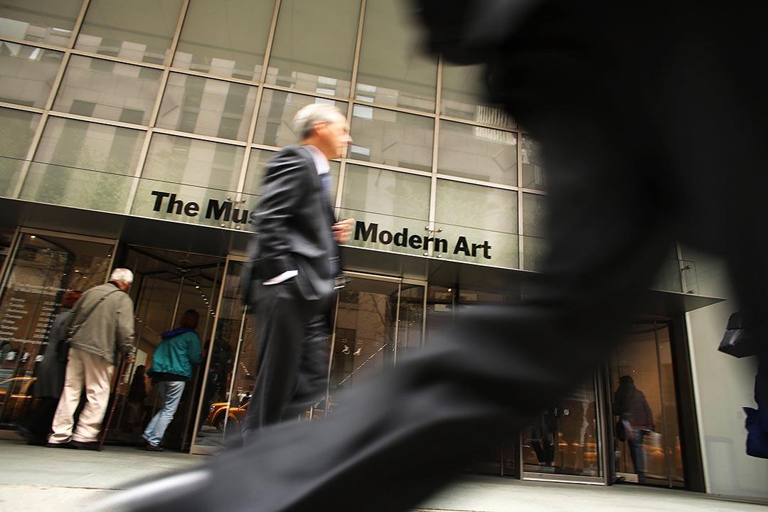 娛樂大亨、藝術收藏家大衛·葛芬(David Geffen)向紐約現代藝術博物館(MoMA)捐出1億美元用於擴建。攝 : Spencer Platt/GETTY