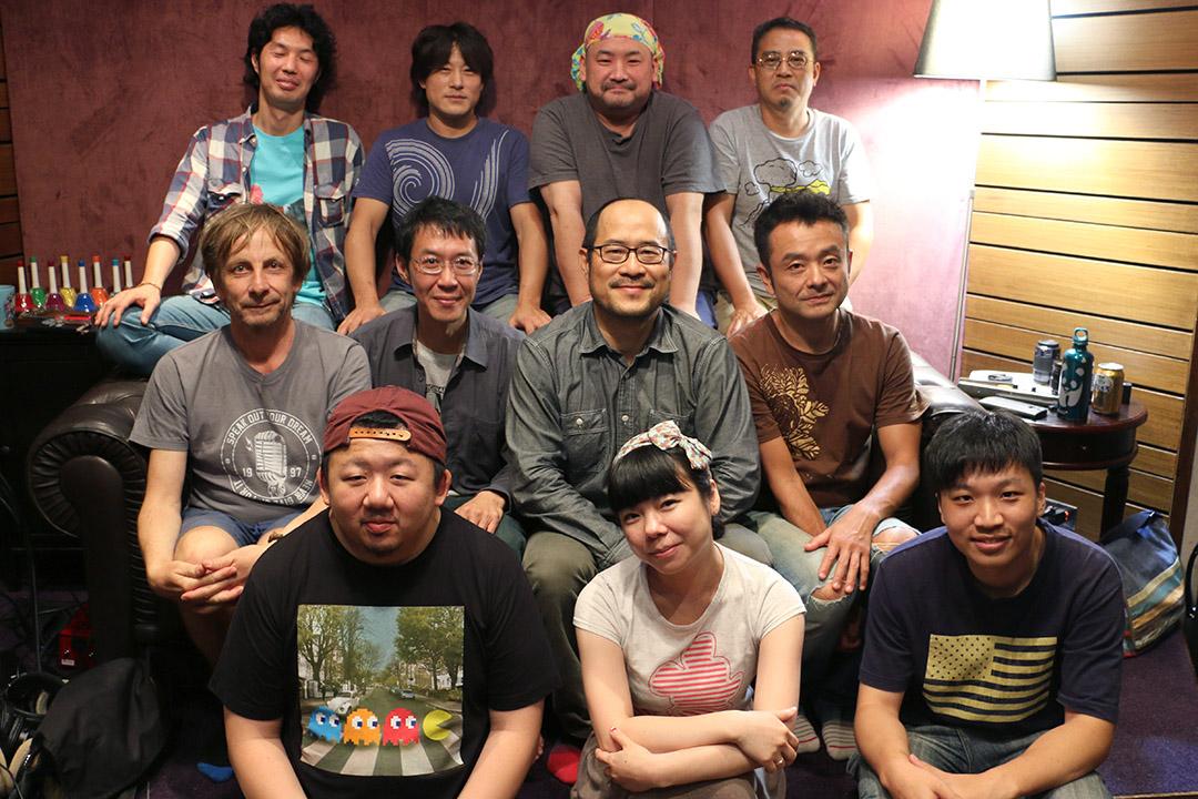 《圍庄》專輯創作夥伴。山下民謠提供