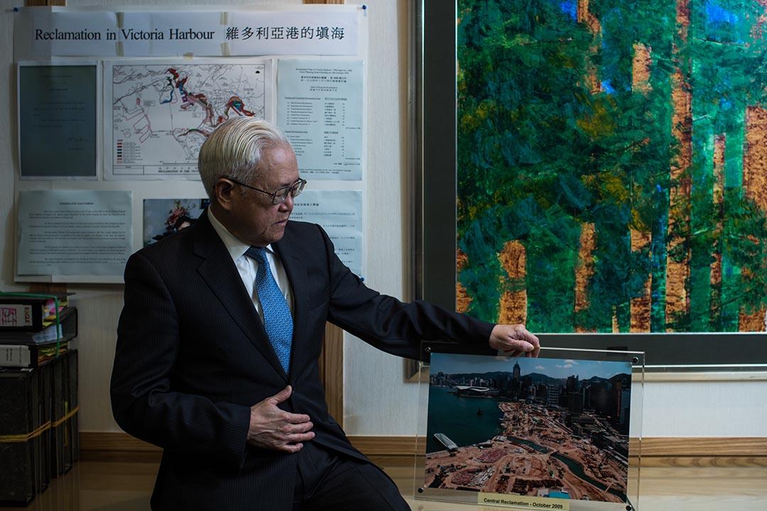 保護海港協會前主席及顧問、大律師徐嘉慎。攝:盧翊銘/端傳媒