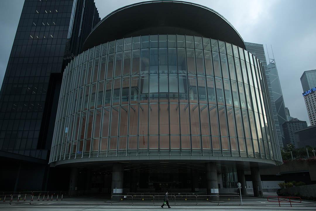立法會大樓。攝:盧翊銘/端傳媒