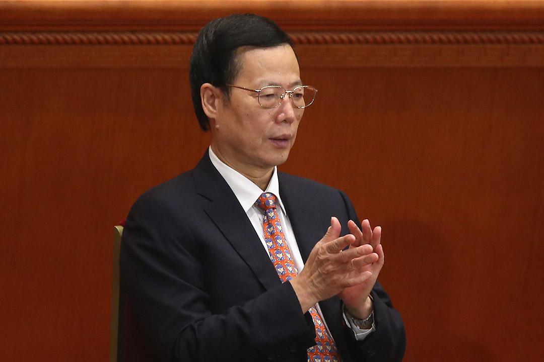2013年3月16日,北京,中國國務院副總理張高麗參與第六屆全國人民代表大會。攝:Feng Li/GETTY