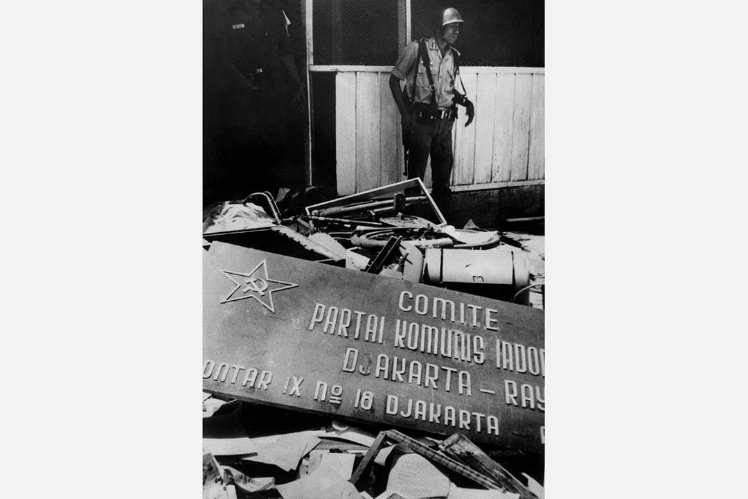 1965至1966年,印尼發生了針對有共產黨嫌疑以及同情共產黨人士的大清洗。AFP
