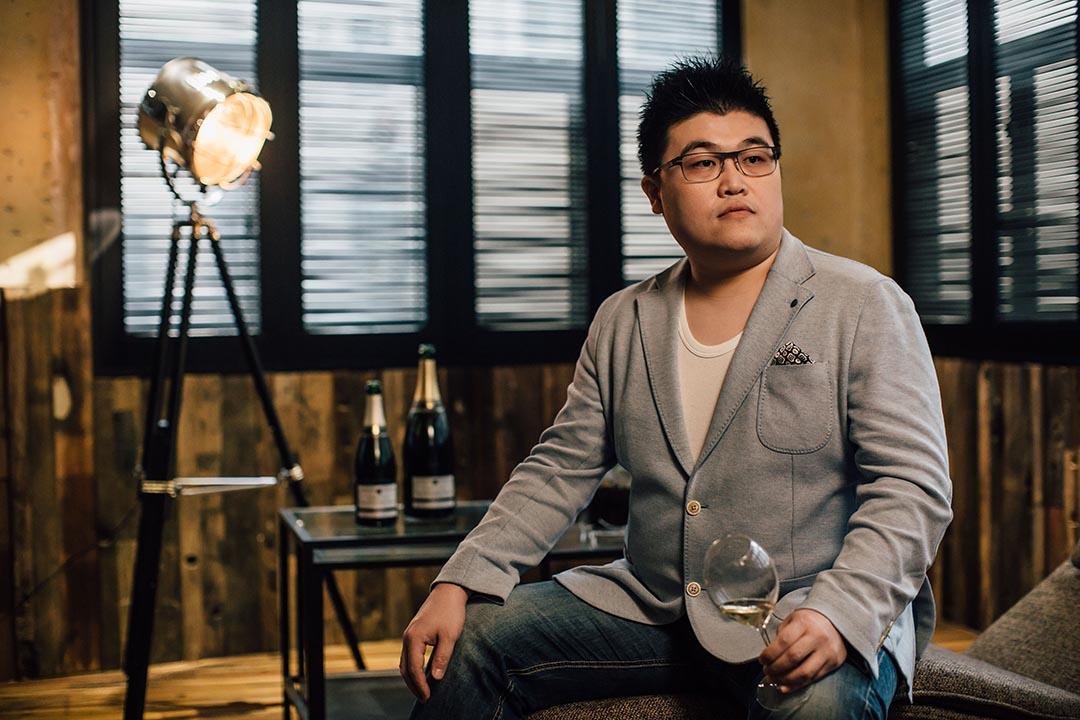 金寧禧是法國一家酒莊的租戶,也是酒莊生產的香檳品牌中唯一一位香港人。攝 : Anthony Kwan/端傳媒