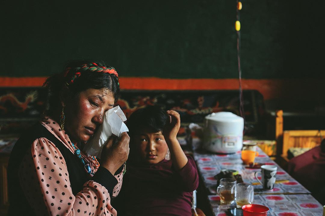2015 年8月31日,青海玉樹治多縣移民村。攝:王嘉豪/端傳媒