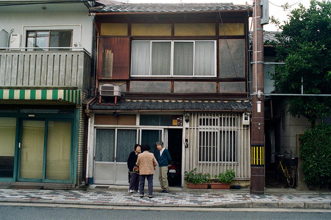 京都市的居民大部分世世代代都居於京都市內,人與人的關係特別緊密。照片由林琪香提供
