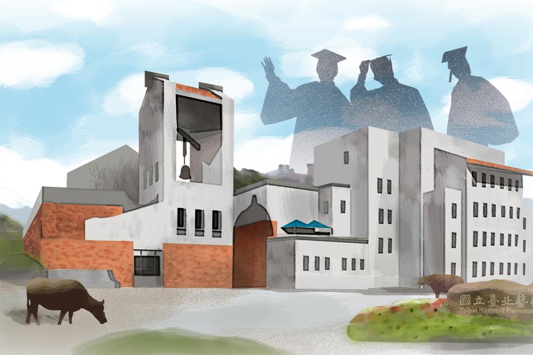 那些年,我們從「國立」大學畢業。圖:Wilson Tsang / 端傳媒