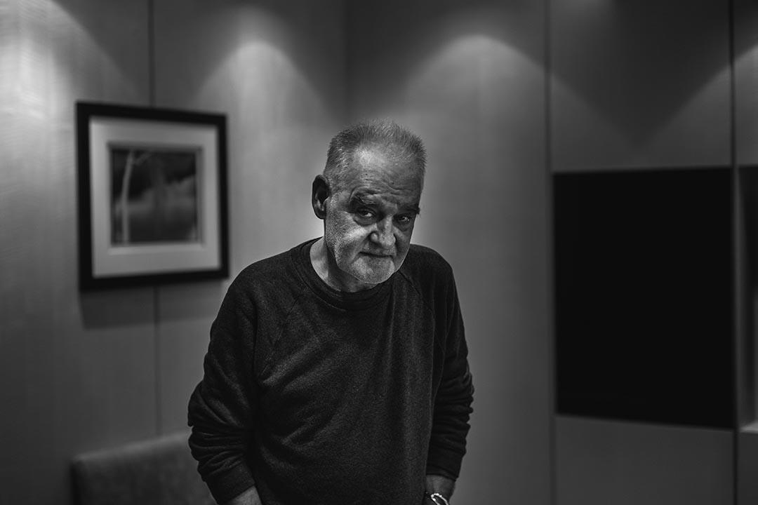 匈牙利導演貝拉‧塔爾( Béla Tarr ) 。攝:葉家豪/端傳媒