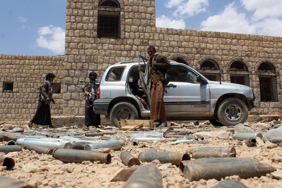在聯合國斡旋之下,4月10日,也門臨時停火協議生效,各方將於18日舉行尋求和平的會談。攝 : NABIL HASSAN/AFP